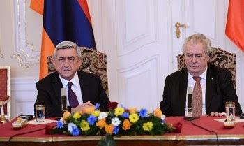 El presidente checo reconoce el Genocidio.
