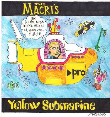 Resultado de imagen para yellow submarine macri